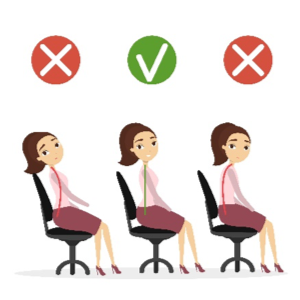 Desk Posture-2 Wrongs and 1 Right