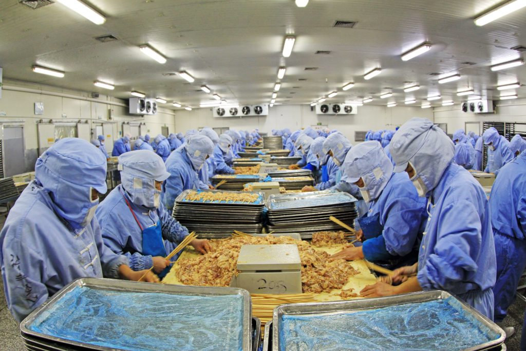 Job Rotation Food Processing